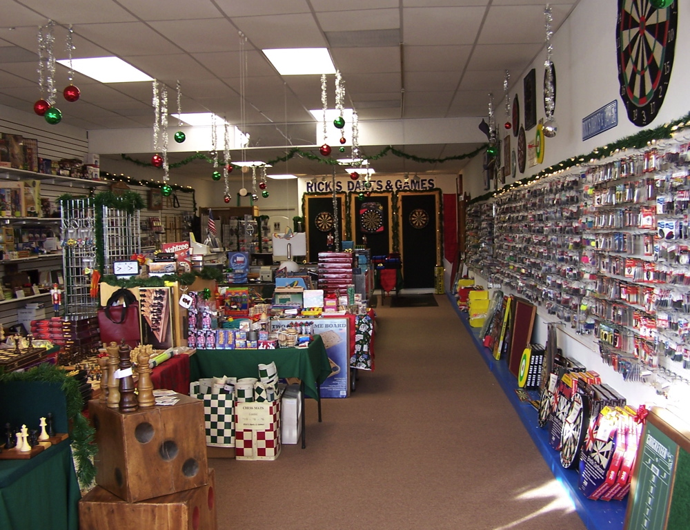 Rick's Darts & Games New Store!